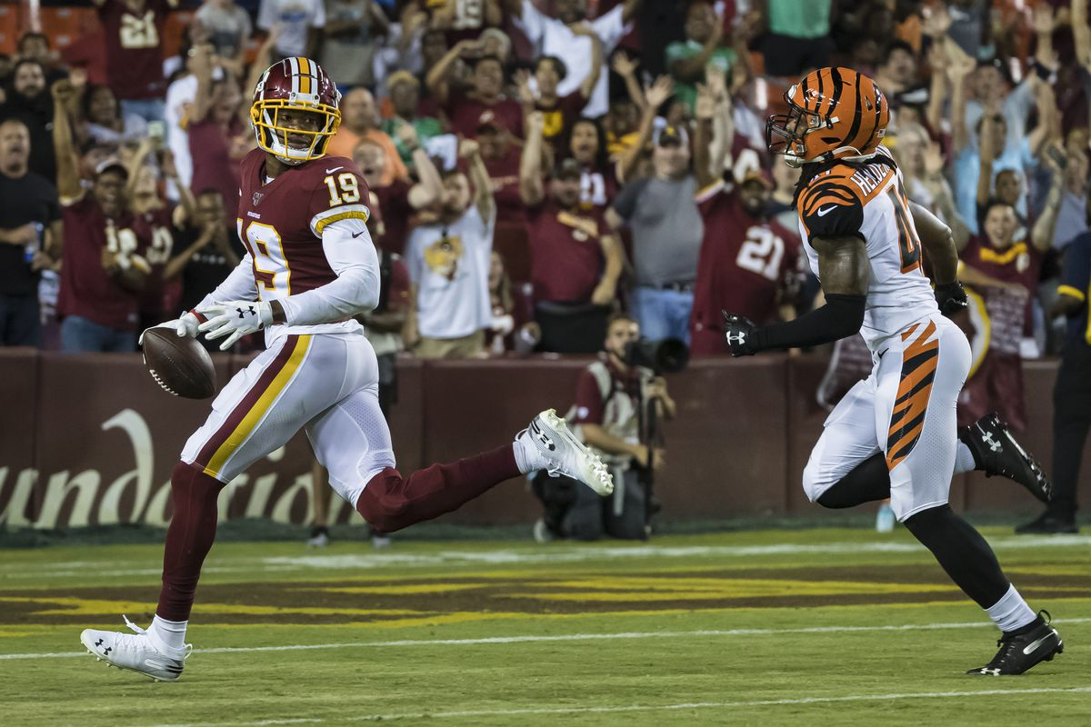 Are the Redskins pass catchers really the worst in the NFL