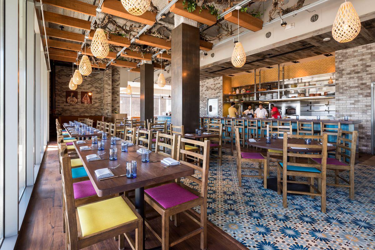 The dining room at Dyafa