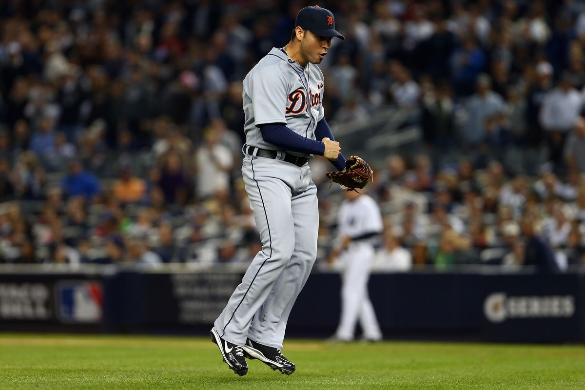 Tigers 3, Yankees 0: Dominant Anibal Sanchez and Phil Coke pitch ...