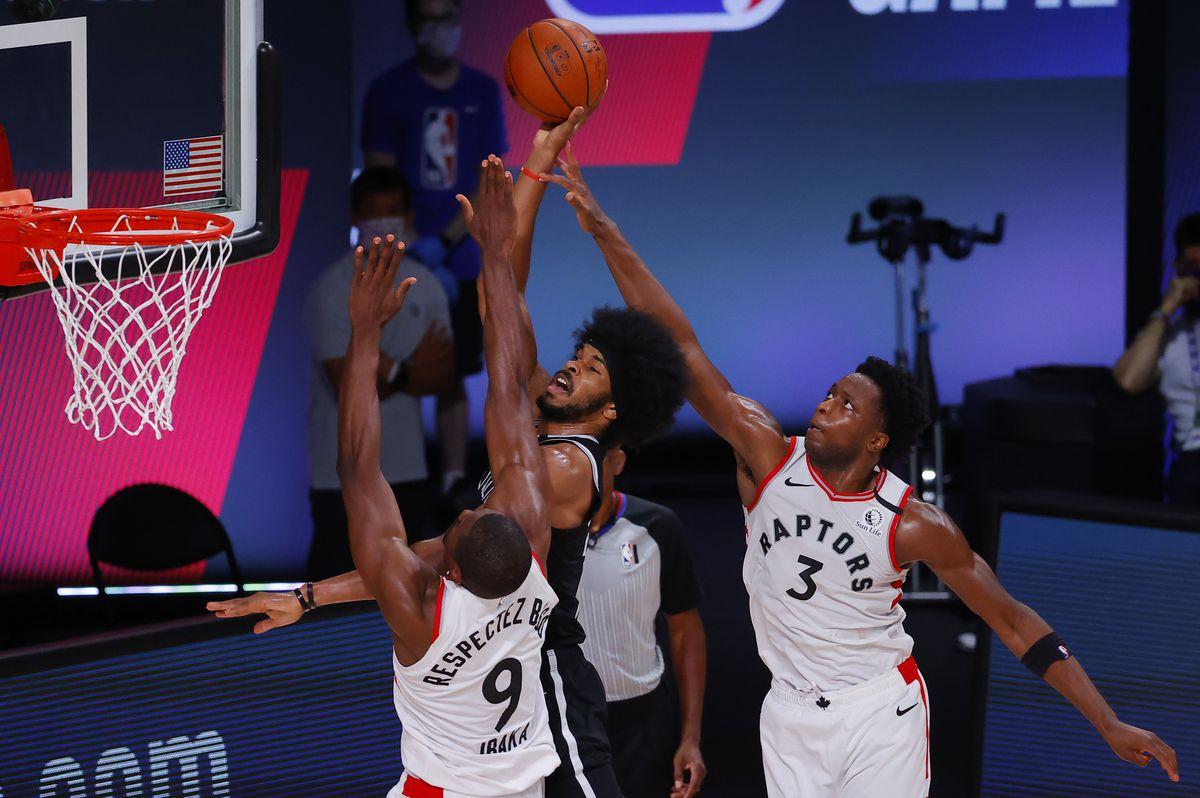 Brooklyn Nets v Toronto Raptors - Game One