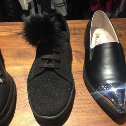 Adalynn glitter sneaker, $81