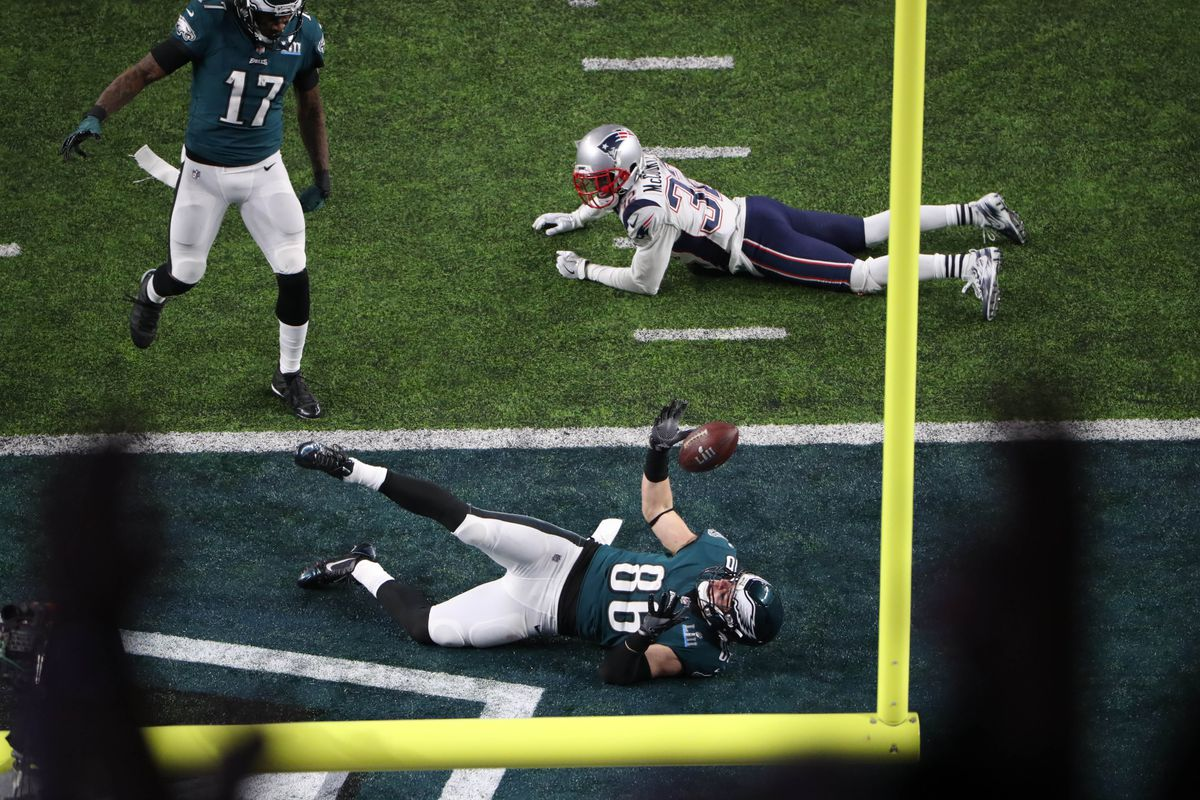 a462e945f Super Bowl 52: The broken catch rule almost ruined an instant ...