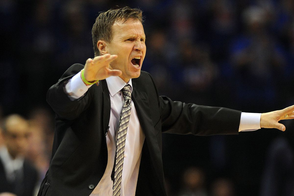 This is the most angry picture of Scott Brooks in years.