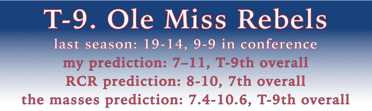 Ole Miss Record