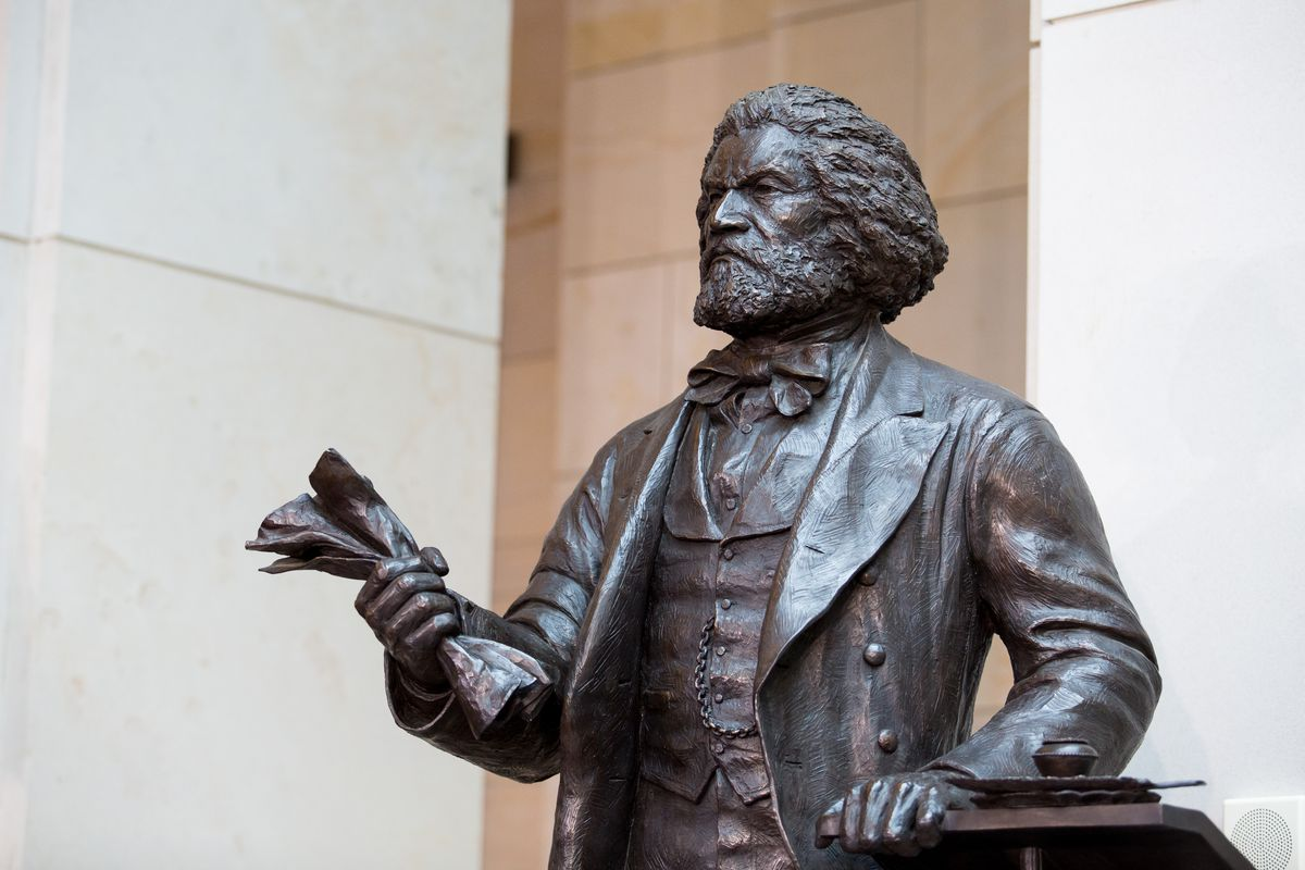 Congressional Leaders Dedicate Frederick Douglass Statue At US Capitol