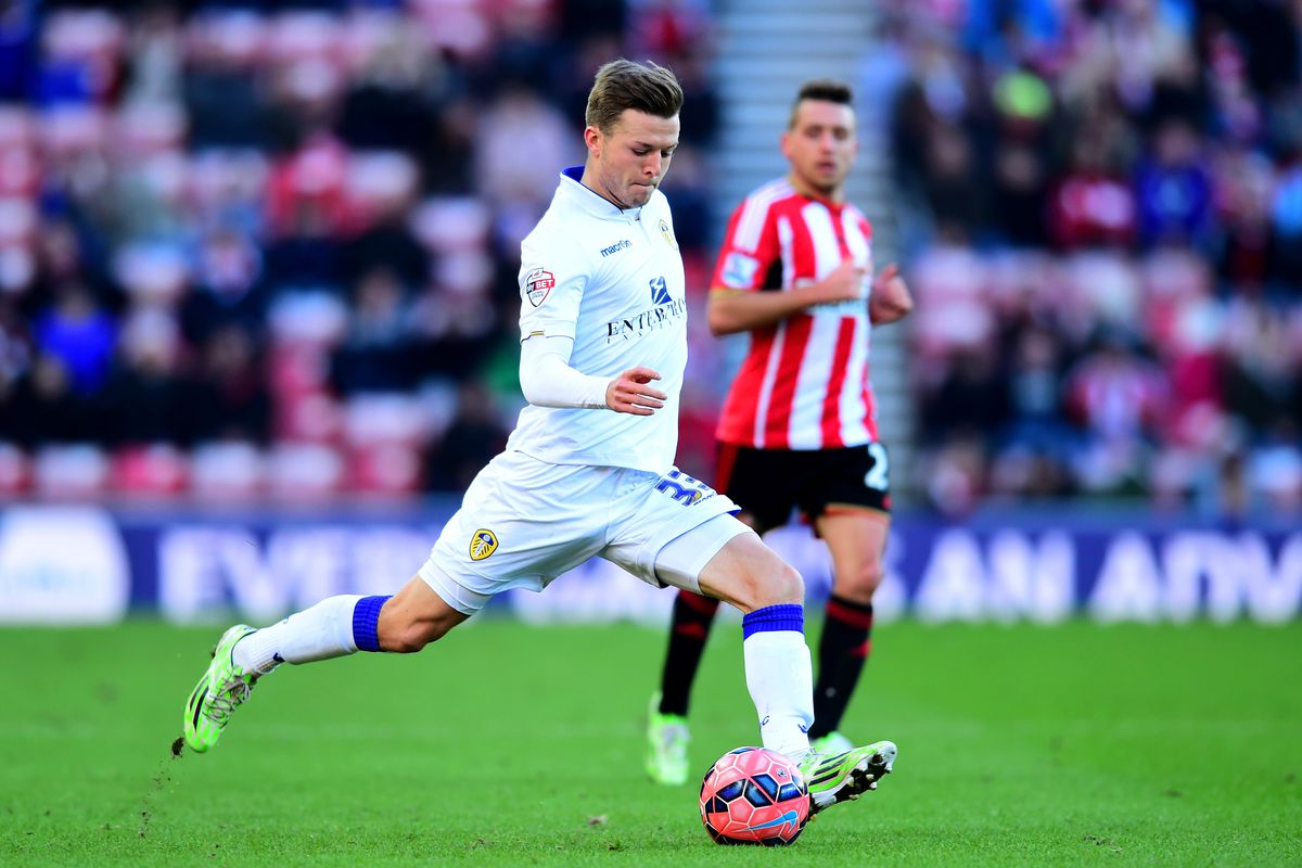 Casper Sloth returned to the fold in Leeds' 1-0 FA Cup defeat to Sunderland.