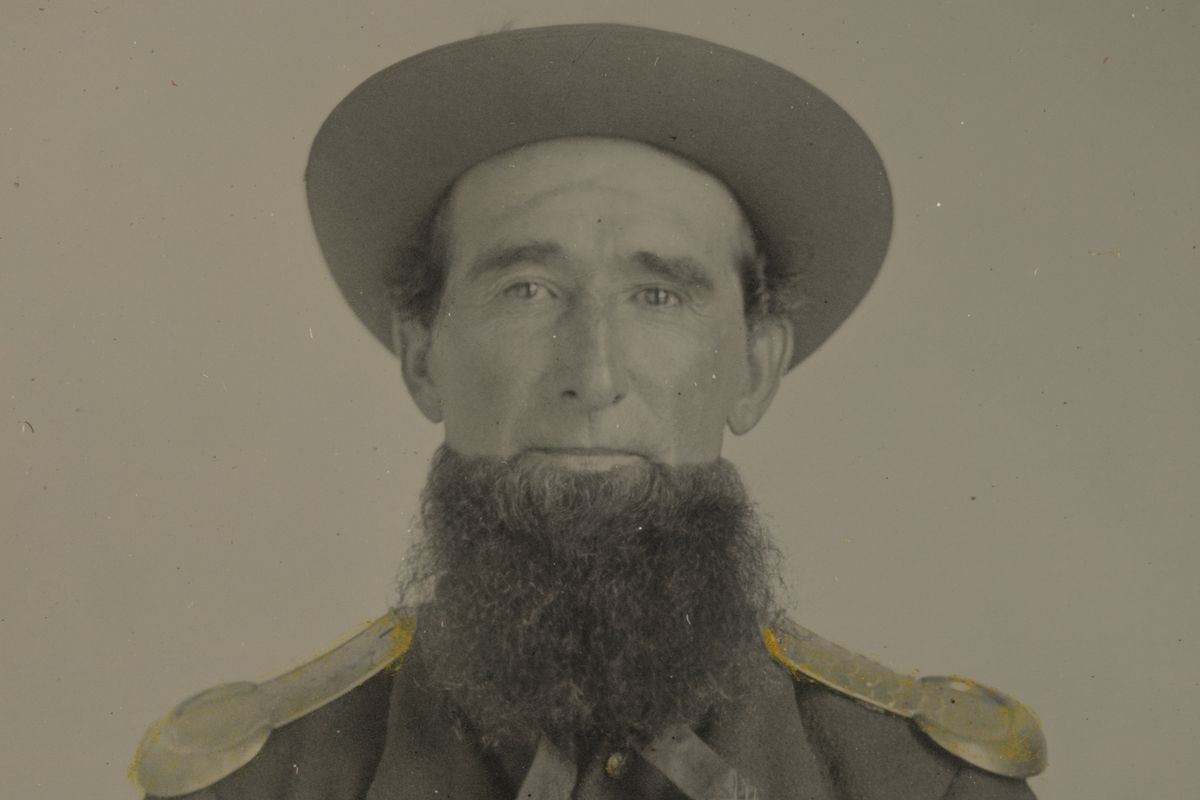 A Union Soldier in the 1860s.