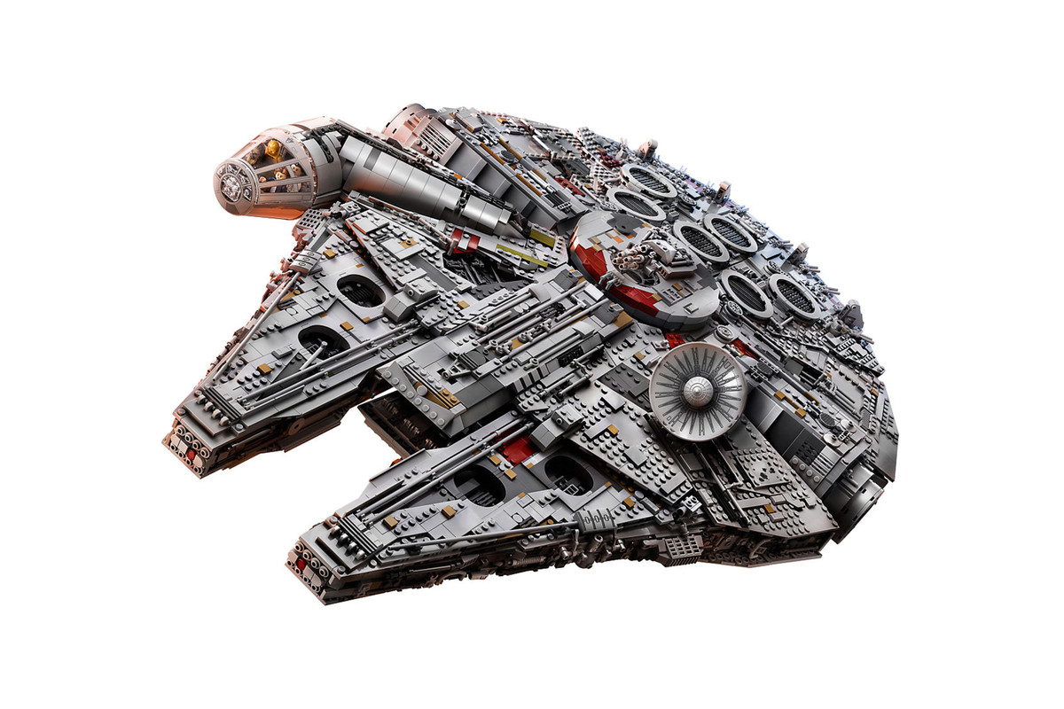 Lego is releasing a ginormous 7541-piece Millennium Falcon set