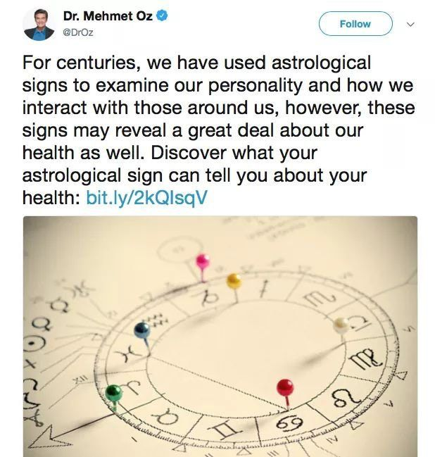 Why Dr Ozs Astrology Tweet Was So Disappointing Vox