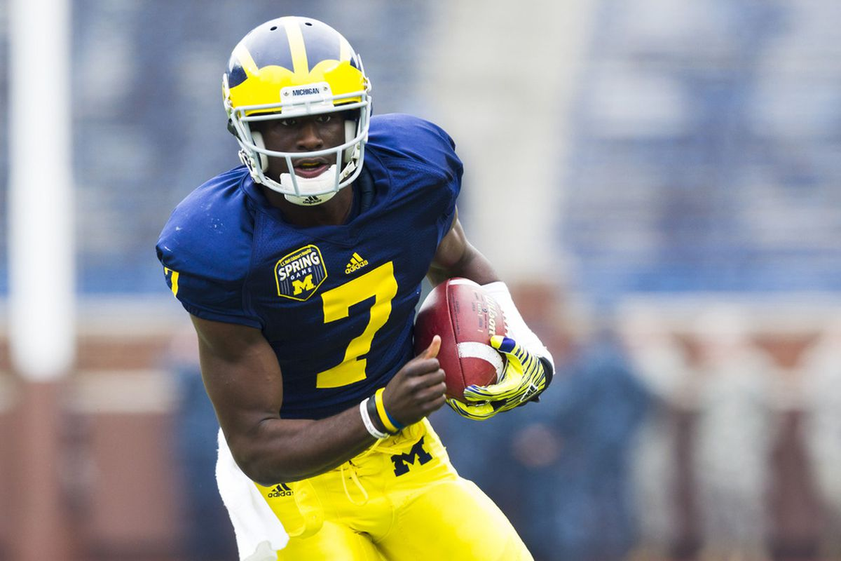 <strong>Devin Gardner </strong>has potential unlike anyone else on Michigan's roster. Where that potential will be unleashed is yet to be determined. (Photo Credit: Rick Osentoski-US PRESSWIRE)