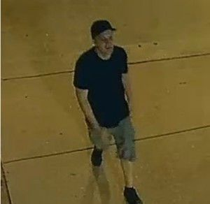 Surveillance image of a man who attacked a jogger Sept. 10 in RIver North.   Chicago Police