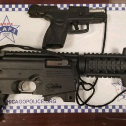 """Guns seized at """"gang-related party"""" in Wicker Park"""