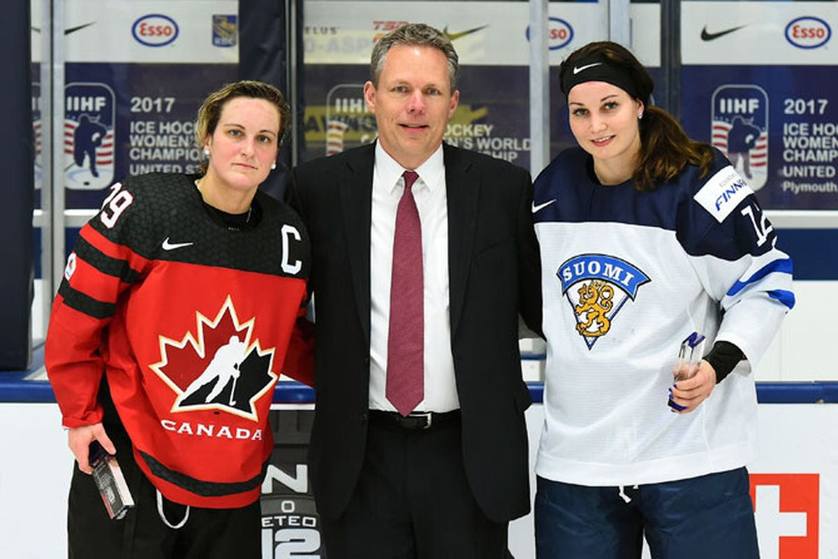 From ice hockey to ringette, Team Finland's Susanna Tapani leading the way - The Ice Garden