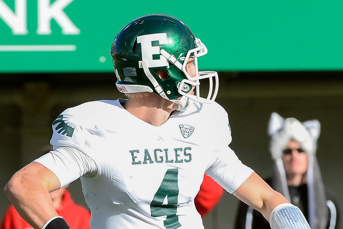 EMU added a promising young offensive line commit, who could be a big factor in protecting quarterback Brogan Roback, to its 2014 class,