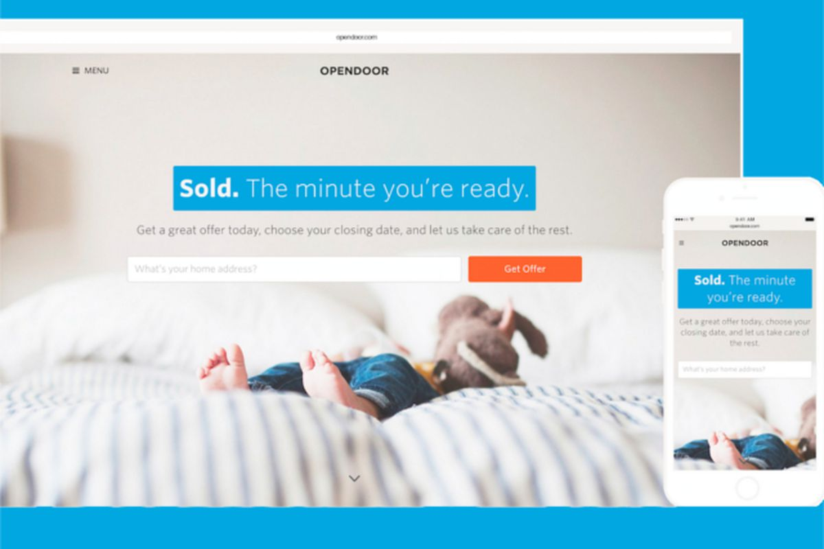 opendoor thinks it can build a business buying your home online is
