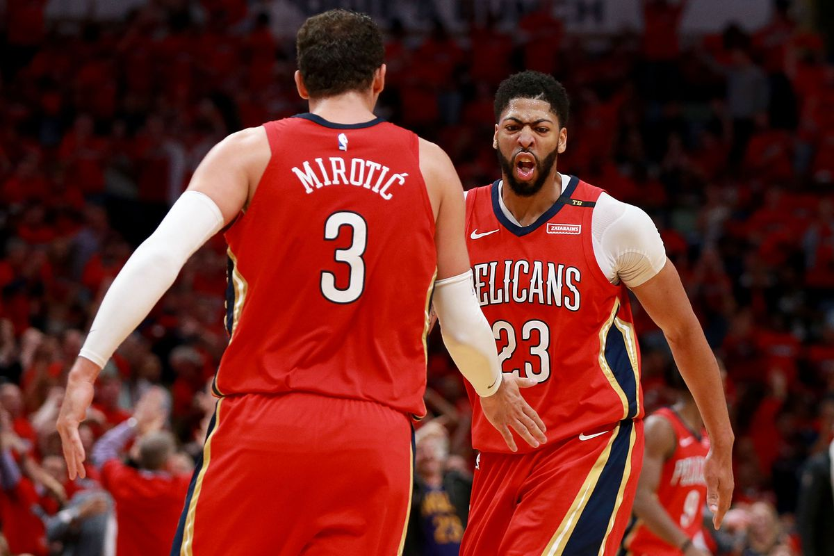 Trail Blazers Vs. Pelicans 2018 Results New Orleans ...