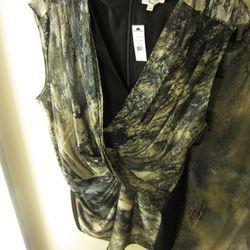 Helmut Lang twisted tunic, $119