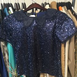 Stretsis fall 2013 sequined top, $50
