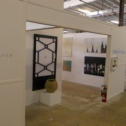 Daryll Carter created a custom showroom and a gallery for local artist Brook Bronner.