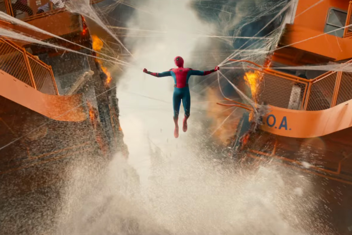Image result for spider man homecoming stills