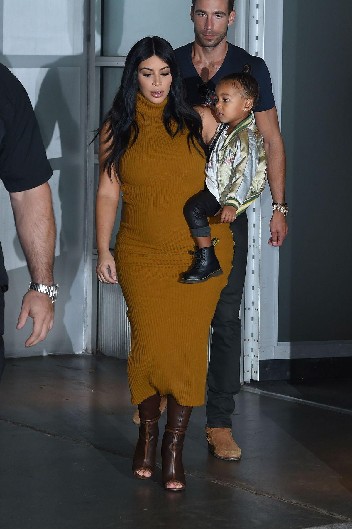 4d12619d567e5 An Obsessive Comparison of Kim Kardashian's Pregnancy Styles - Racked
