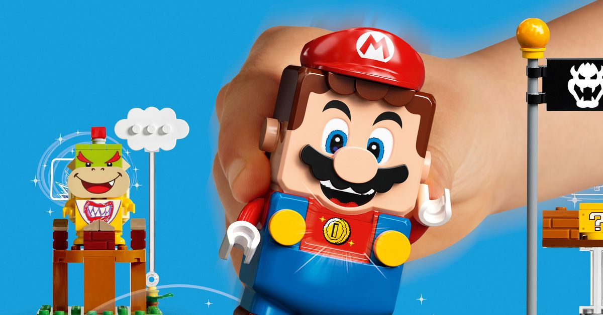 Lego Super Mario revealed as a new type of Lego game experience