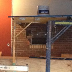 And here's the coal-fired oven.
