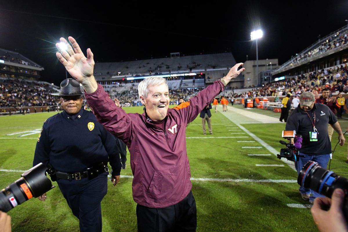 Frank Beamer. Coaching great. Even better person