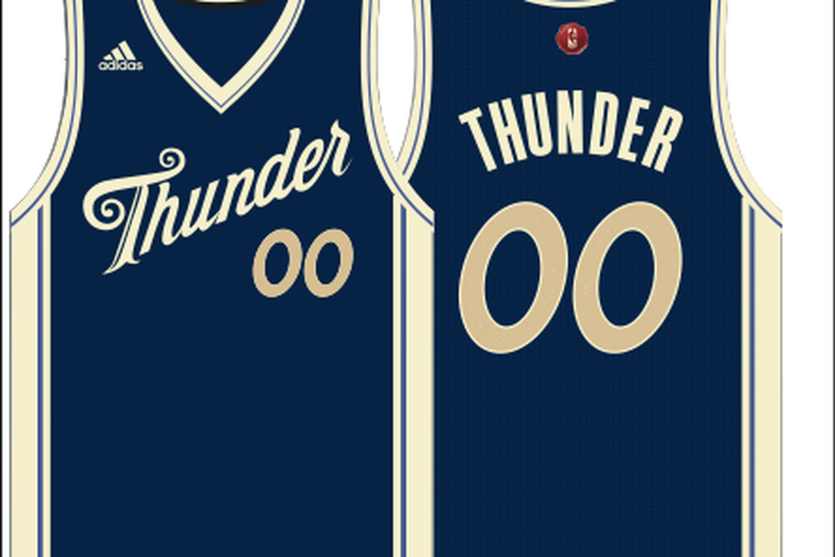 Thunder Christmas Day 2015 uniforms leaked - Welcome to Loud City