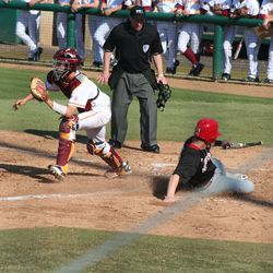 Husker Baseball: Rich Sanguinetti scores