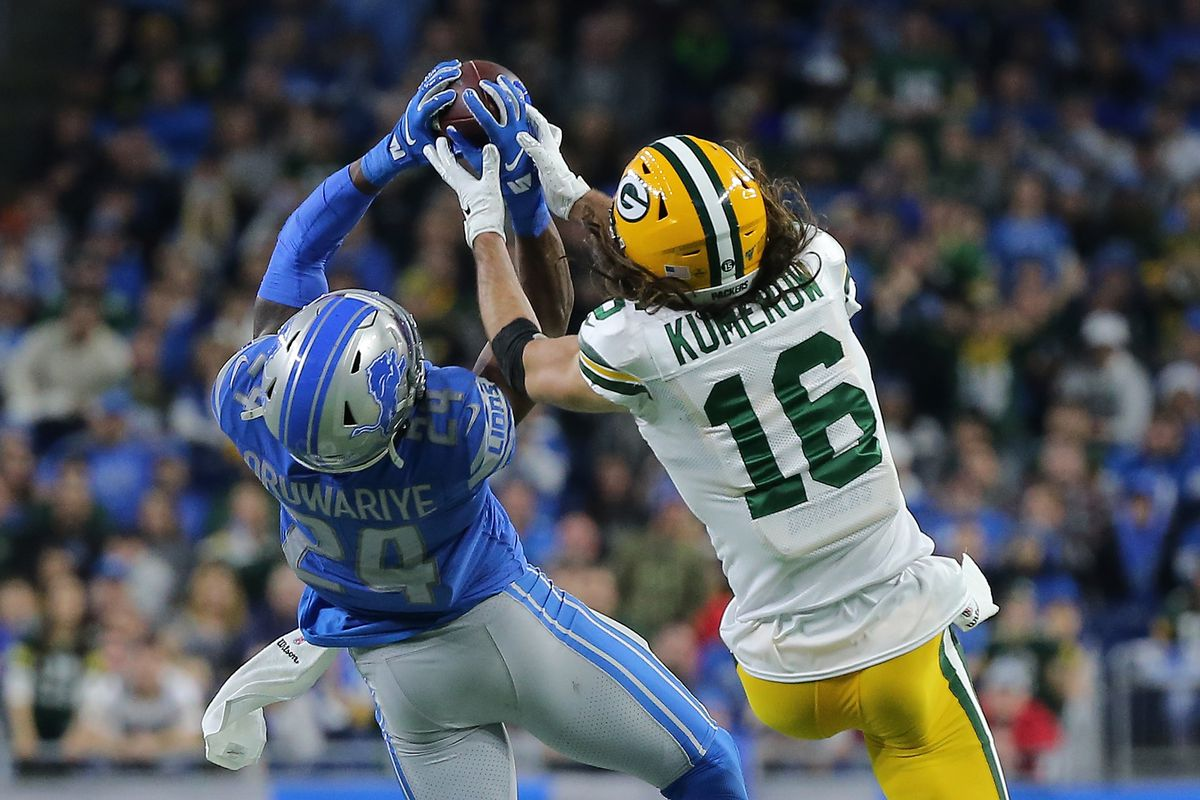 Which Detroit Lions' rookie will improve the most next season?