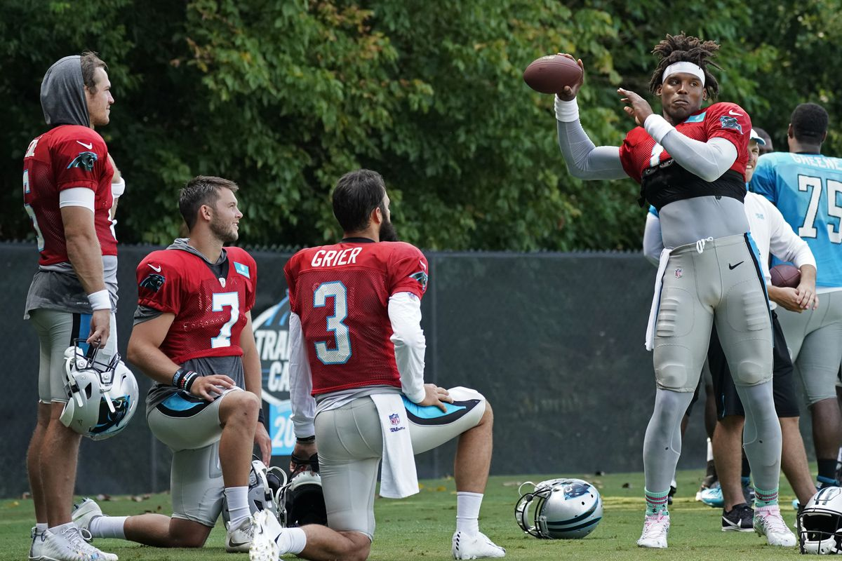 detailed look 91802 06183 Bears won't face Panthers' Cam Newton and Luke Kuechly in ...