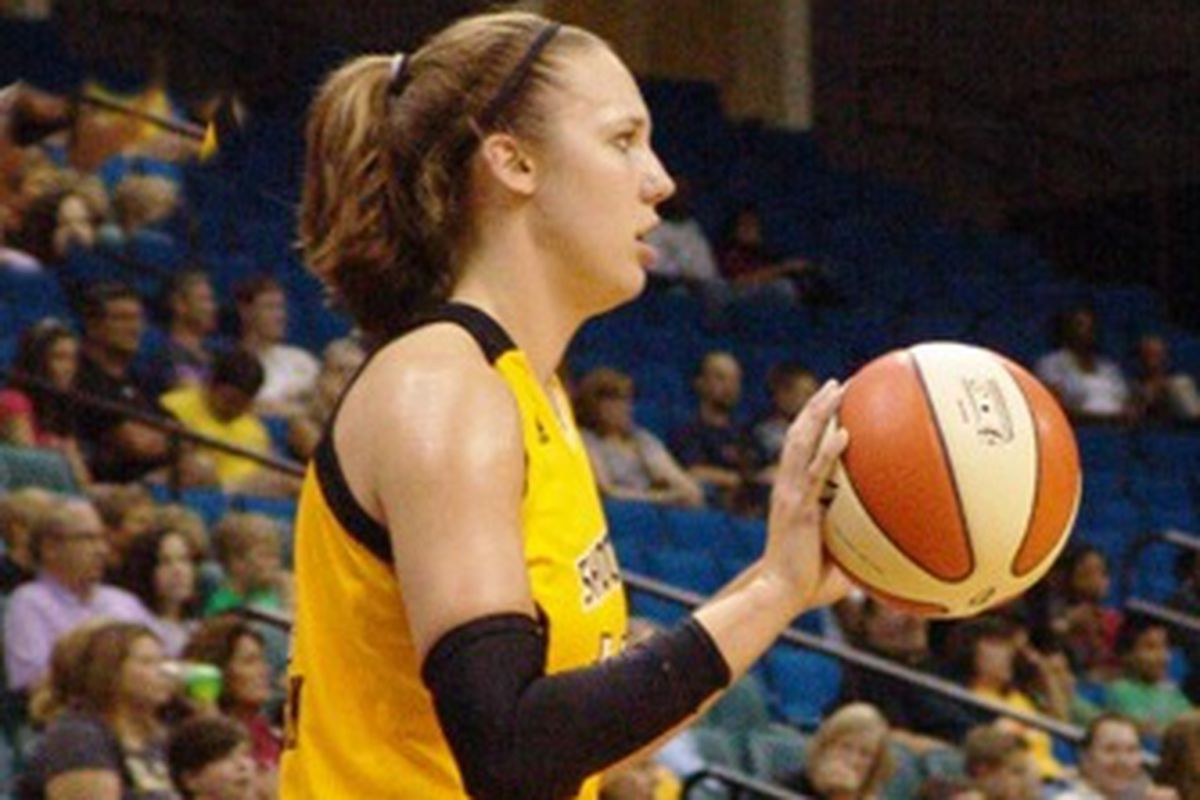 Kayla Pedersen's strength with the Tulsa Shock has been her passing.