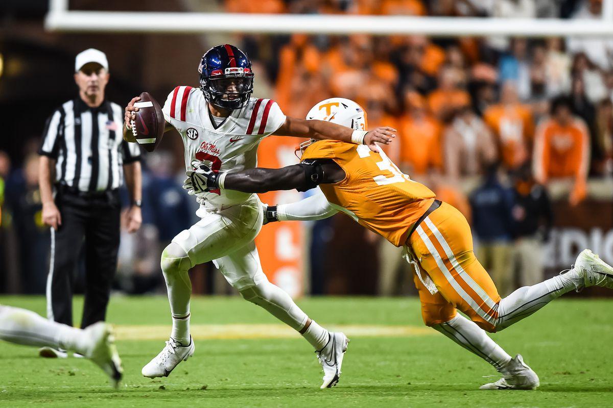 NCAA Football: Mississippi at Tennessee