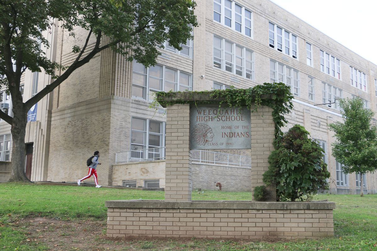 The state says Weequahic High School suspended 0 students in 2015-16. Federal data show it actually gave 233 students in-school suspensions.