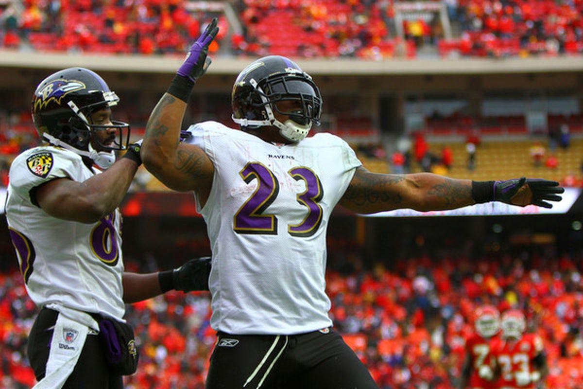The Ravens won't let McGahee make $6 million next season.