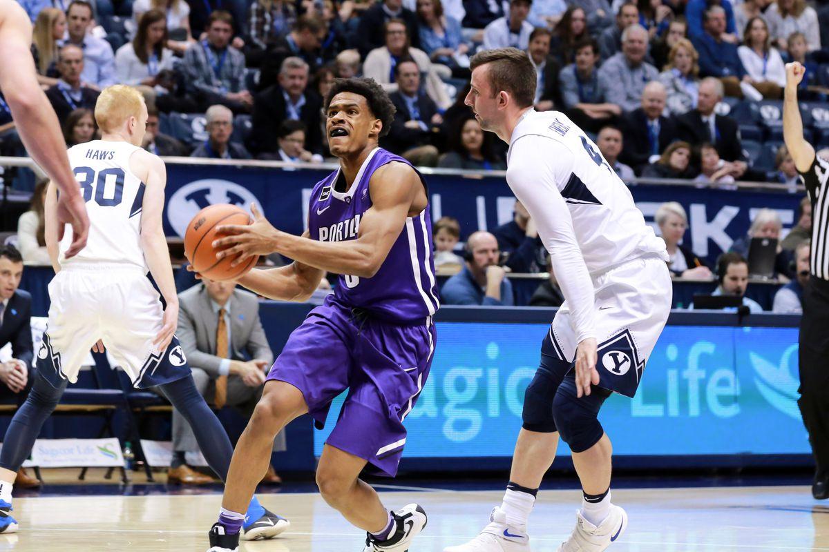 NCAA Basketball: Portland at Brigham Young