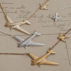 Winged migration necklaces, starting at $45 each (was starting at $50)