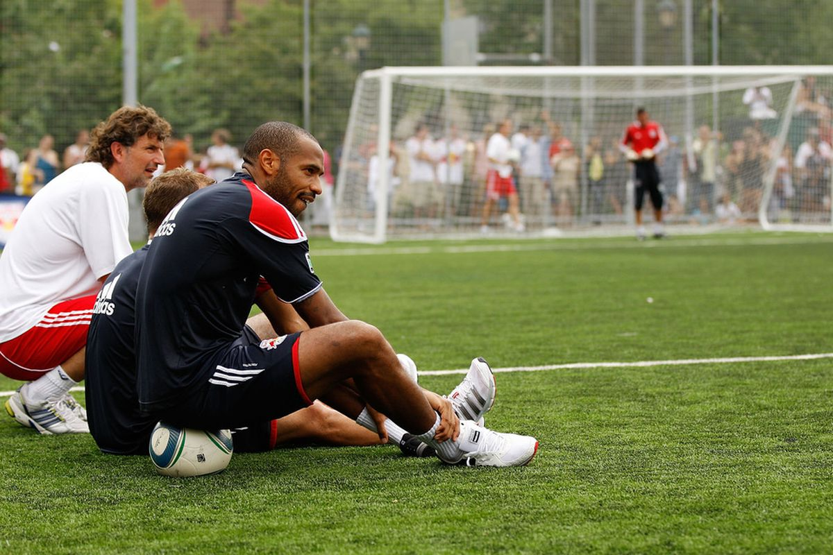 Backe wants to push you, Thierry. Let Back push you...