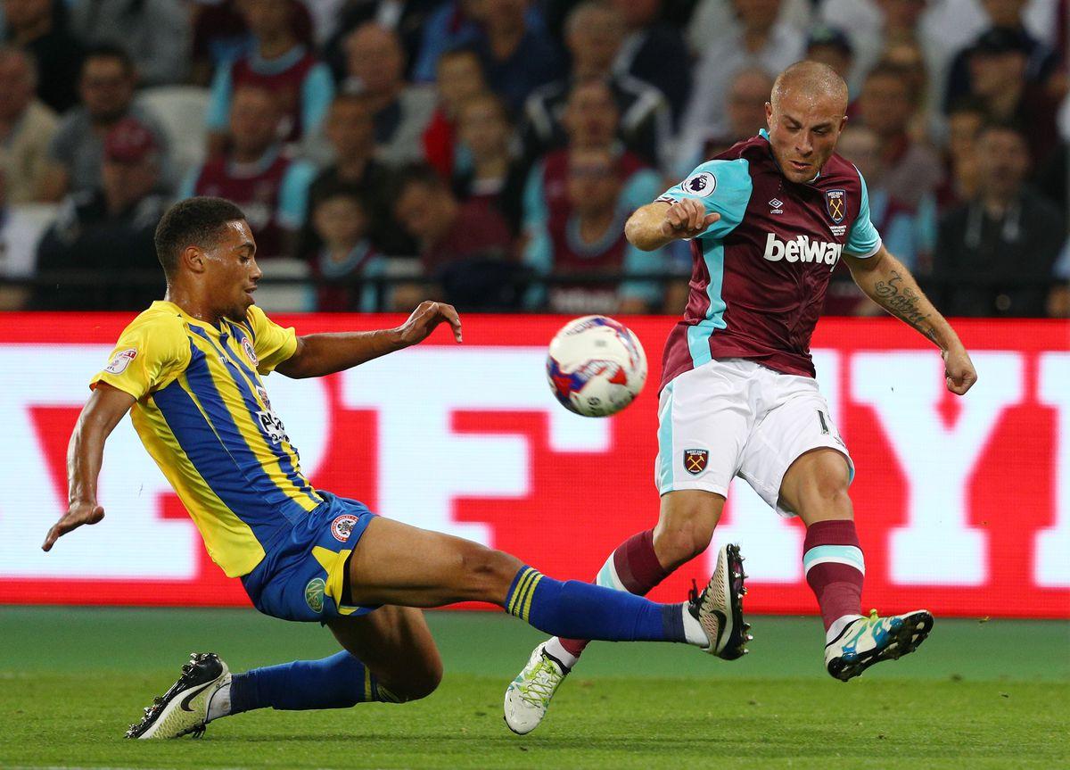 West Ham United v Accrington Stanley - EFL Cup Third Round