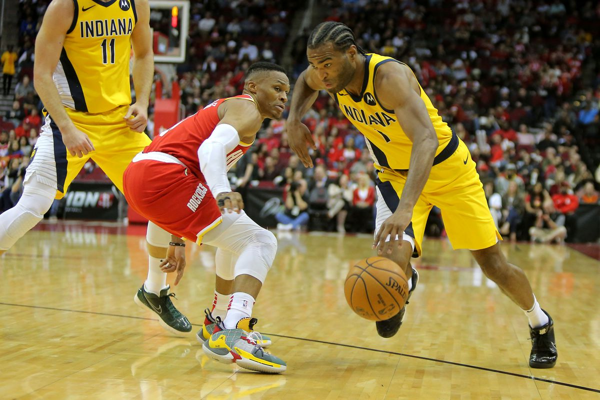 Scoring lulls doom short-handed Pacers in 111-102 loss to Rockets