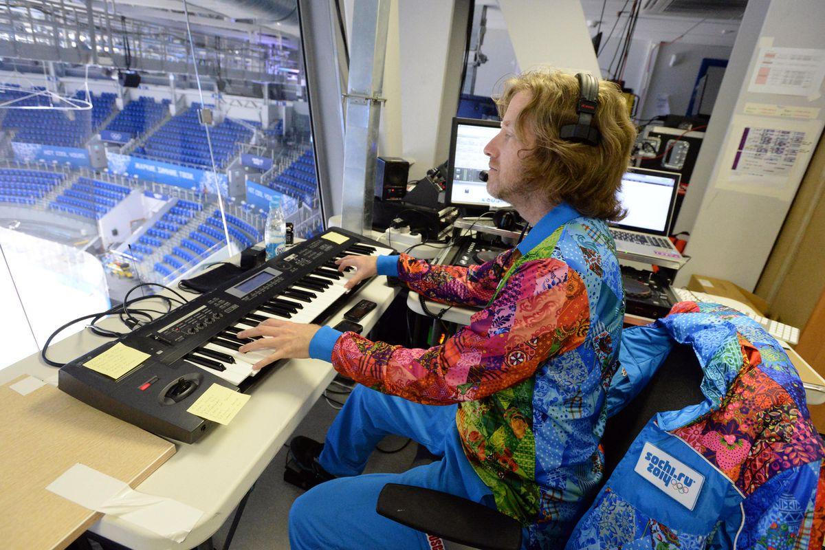 Dieter Ruehle is the new Dodgers organist.