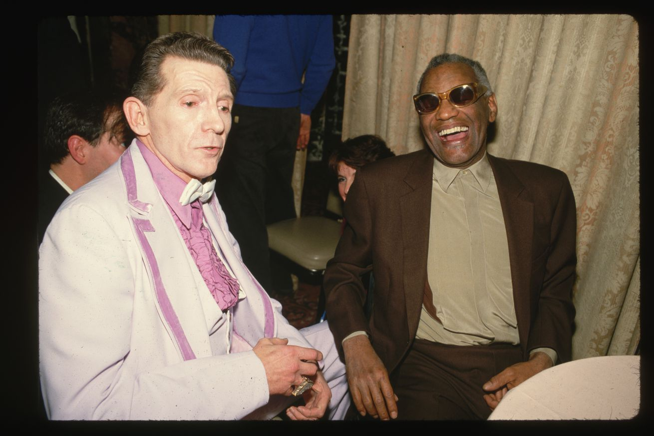 Jerry Lee Lewis with Ray Charles