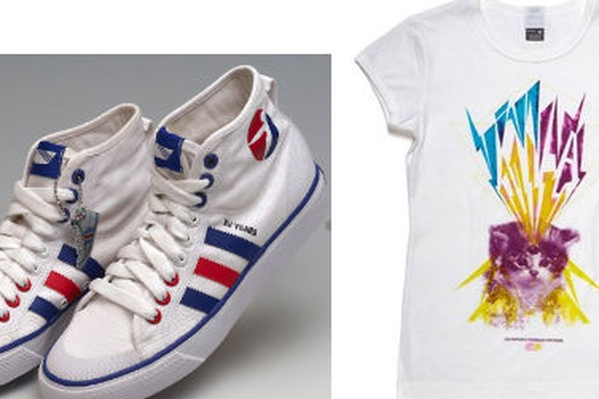The XV/55 sneaker and a 10.55 tee by Les Enfants Terrible