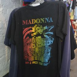 If a concert tee is more recent, it'll be cheaper. For example, this one is just seven years old and thus only $18.