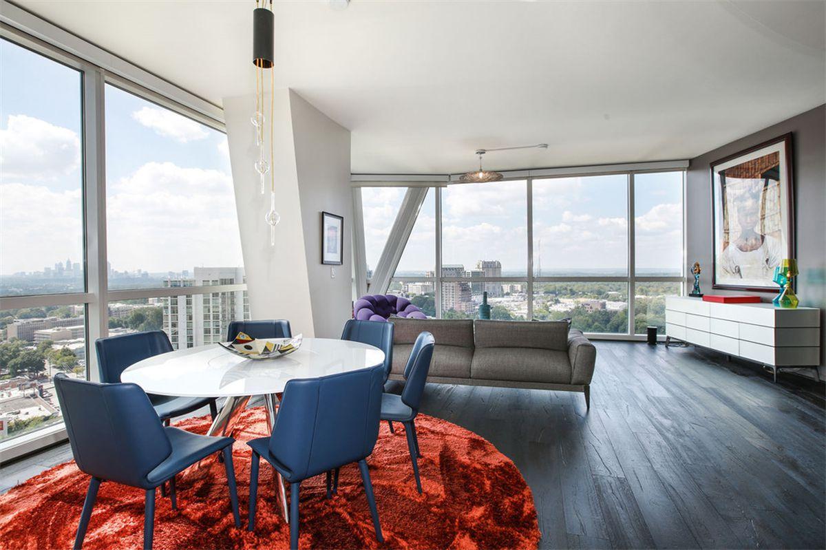 Three-bedroom pad in Buckhead\'s Terminus is sleek, social for $1.2M ...