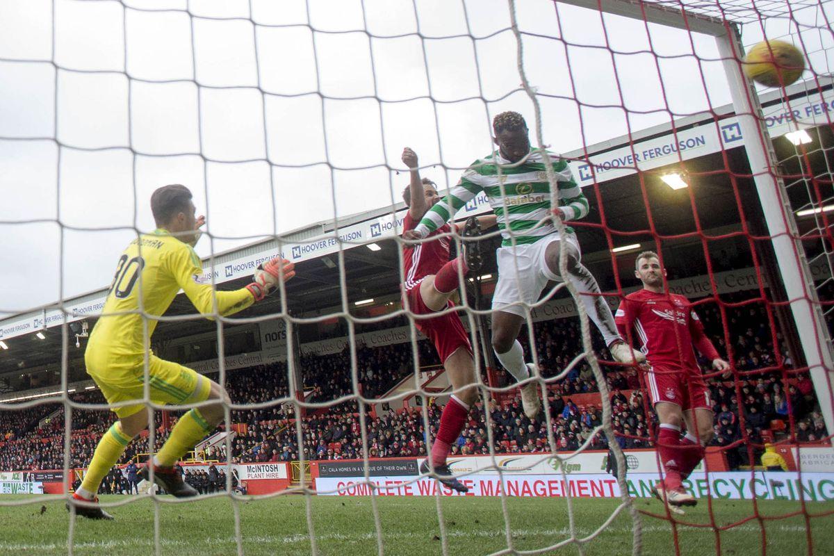Aberdeen v Celtic - Scottish Premiership - Pittodrie Stadium