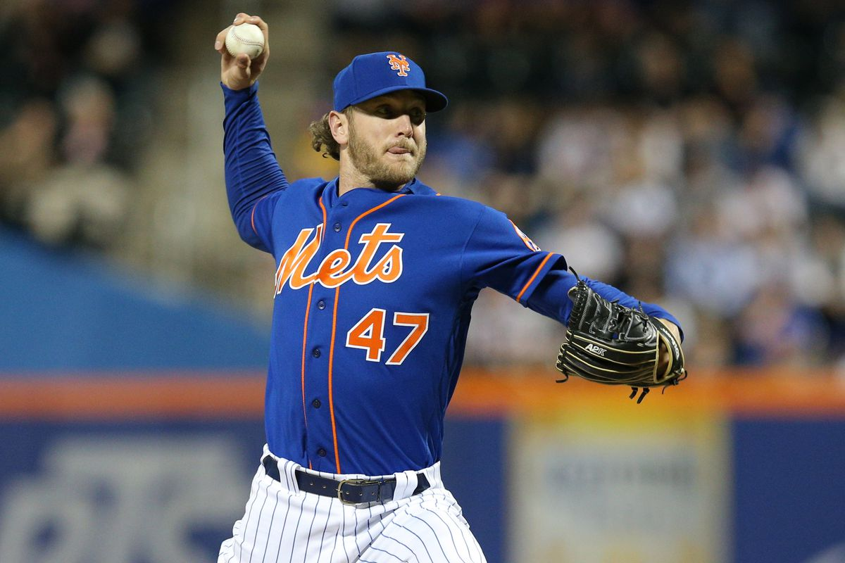 New York Mets relief pitcher Drew Gagnon pitches against the Washington Nationals during the eighth inning at Citi Field.