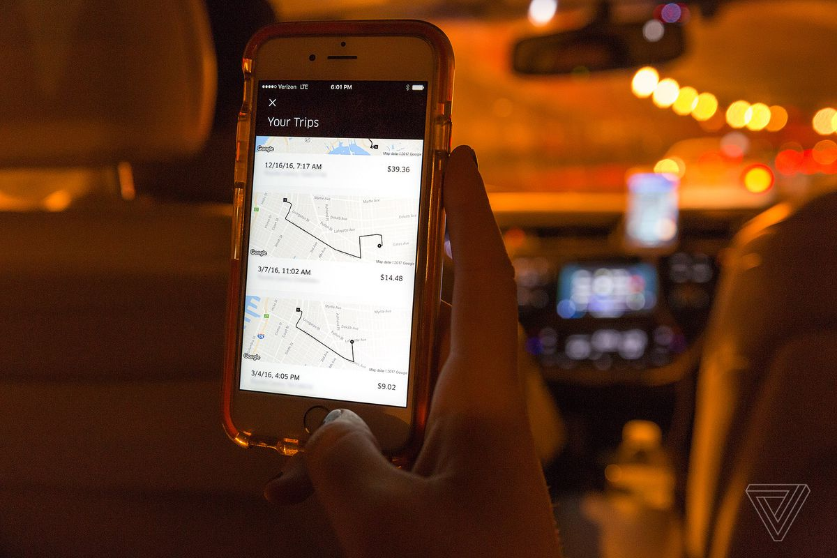 Uber drivers can now collect tips in Alberta, Ontario