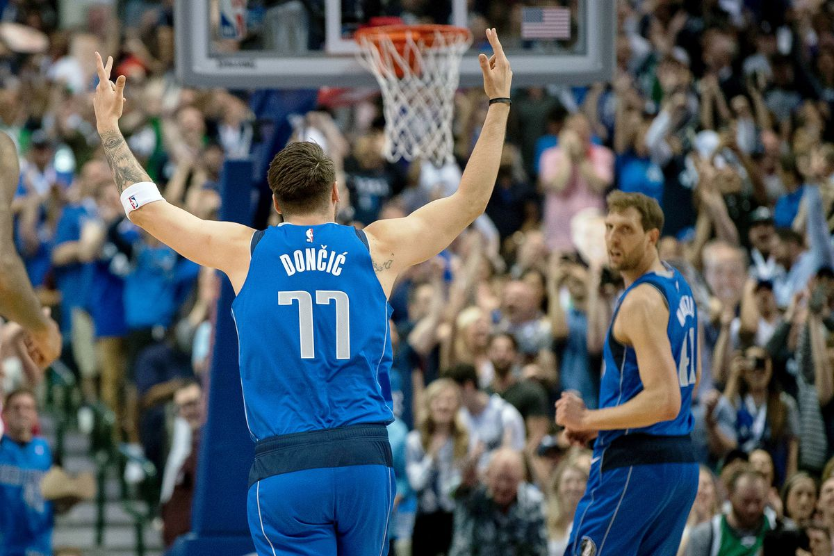 Mavericks' Luka Doncic wins NBA Rookie of the Year